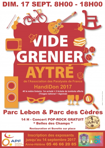 Vide-grenier HandiDon à Aytré