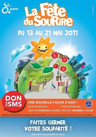 Affiche de la Fête du Sourire 2017