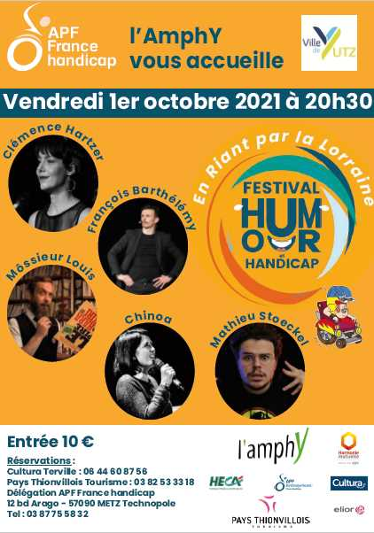 """festival humour et handicap"""