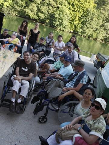 Personnes en situation de handicap et bénévoles, ensemble !