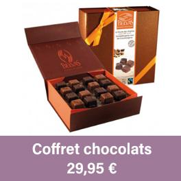 """Coffret chocolats """"La route des origines"""""""