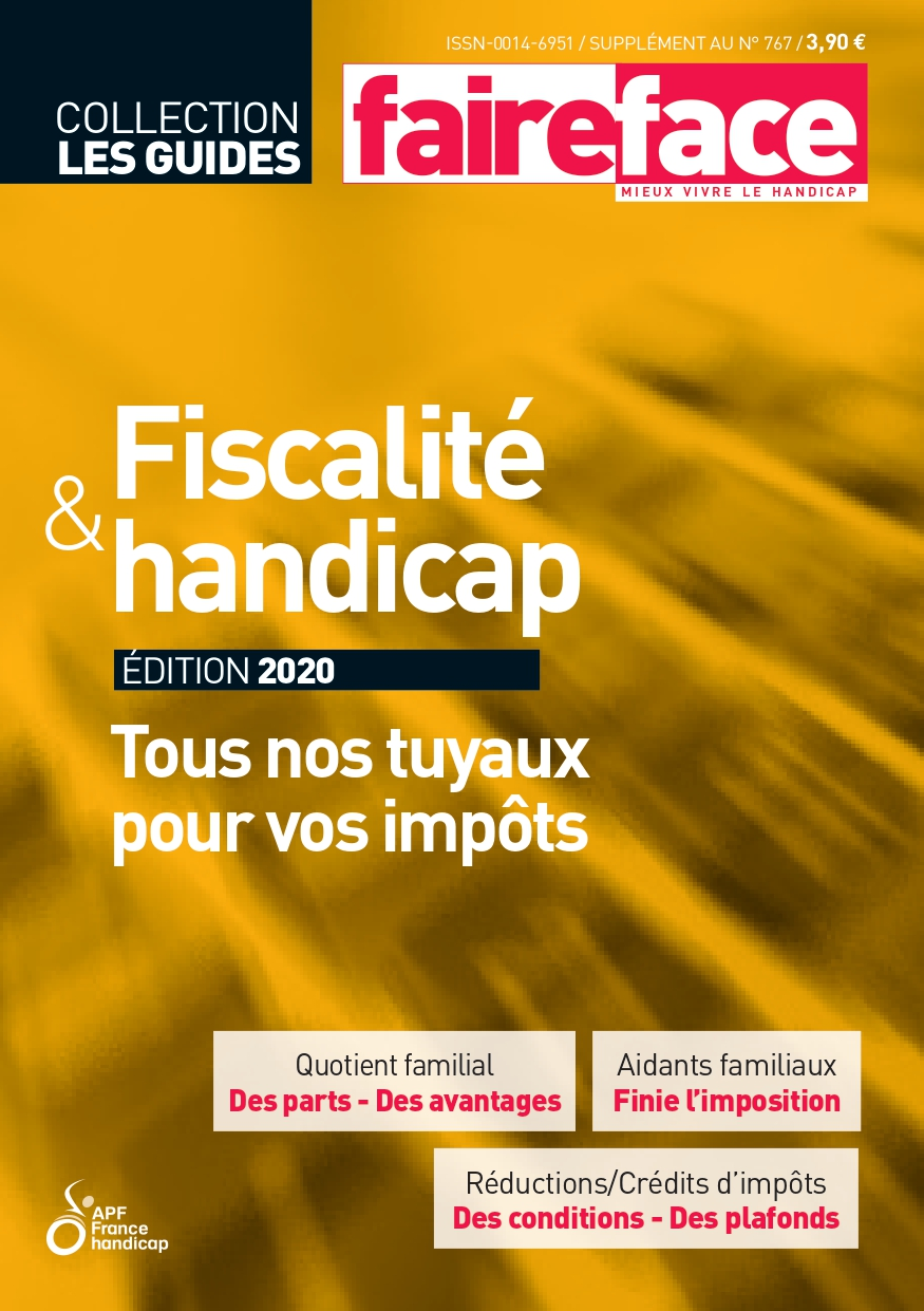 Couverture guide fiscal edition 2020 Faire Face