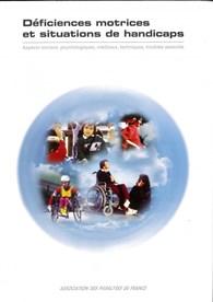 """livre """"Déficiences motrices et situations de handicap"""" sur la boutique en ligne du magazine Faire Face (nouvelle fenêtre)"""