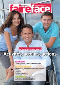 magazine faire face handicap moteur