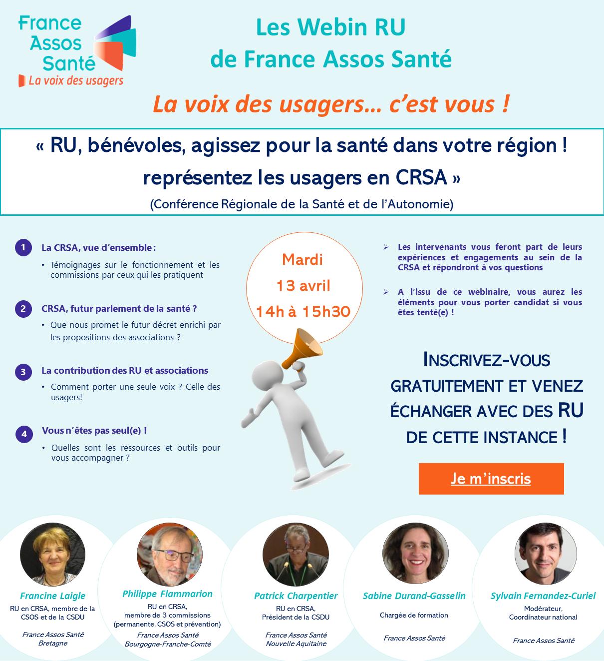 Visuel Webinaire France Assos Santé