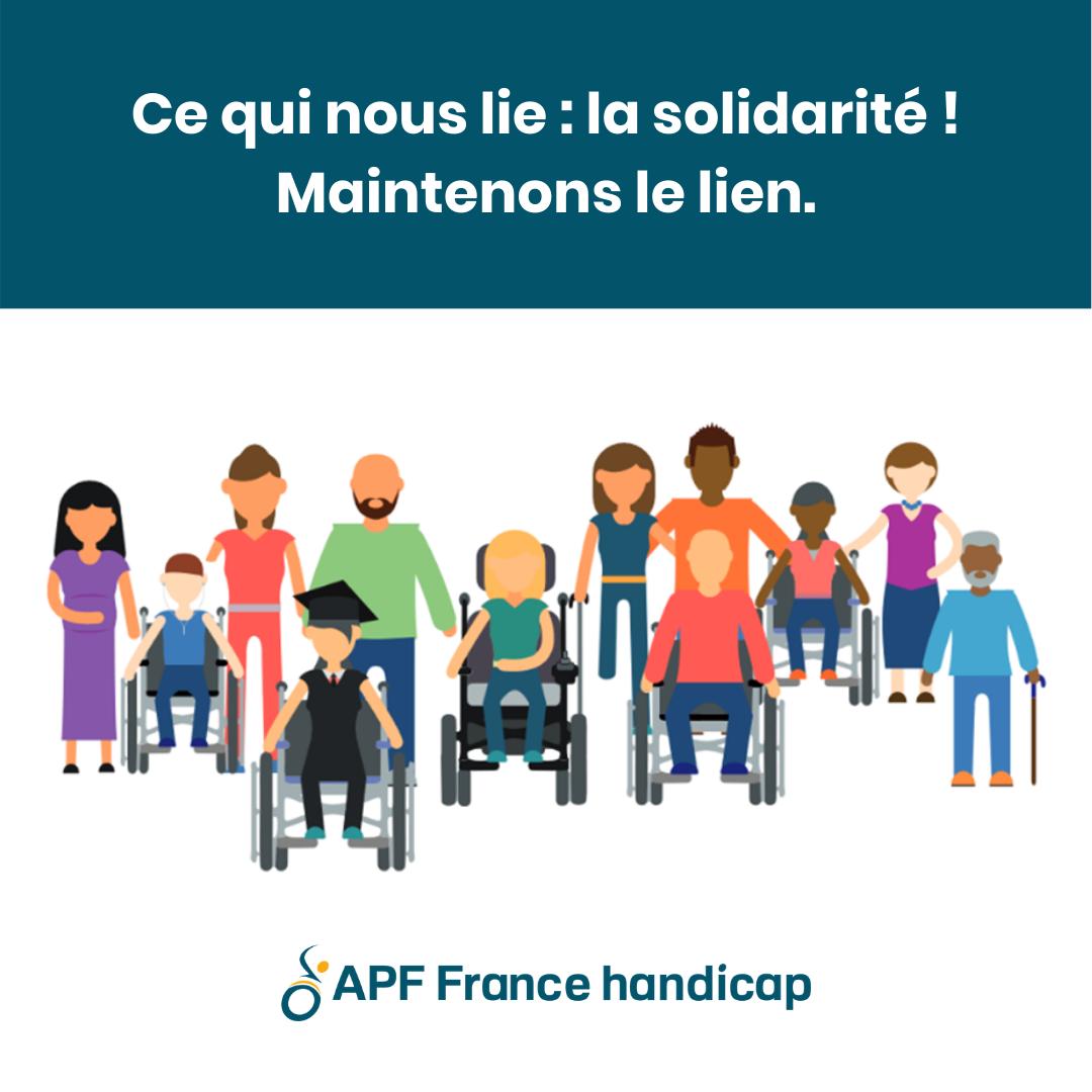 Un groupe Facebook APF France handicap pour maintenir le lien et la solidarité en période de confinement