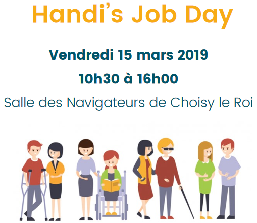 rencontre handi's job day à choisy-le-roi