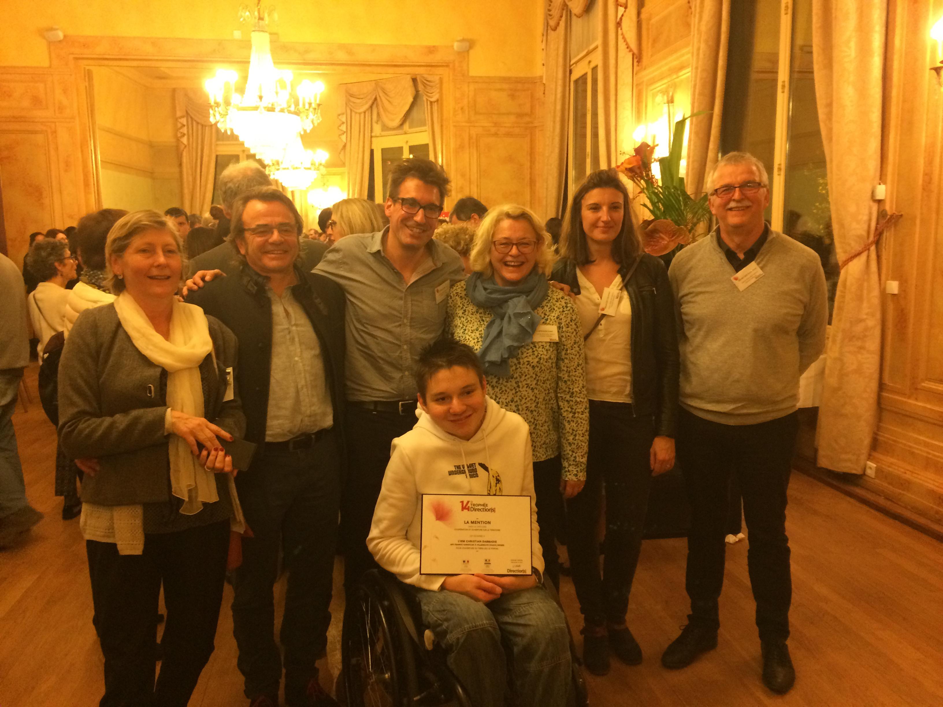 Trophée Directions IEM Dabbadie