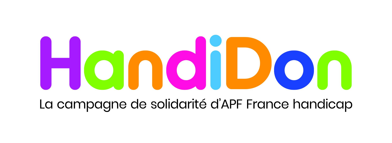 Logo HandiDon campagne de solidarité
