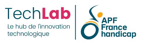 logo techlab apf france handicap