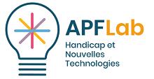 logo APF Lab handicap et nouvelles technologies