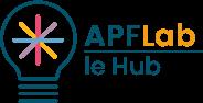 logo APF Lab et nouvelles technologies Le Hub