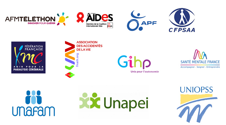 logos association signataires pétition