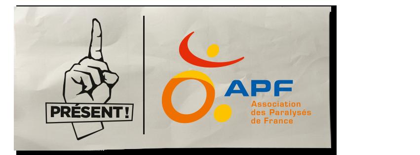 logo apf present