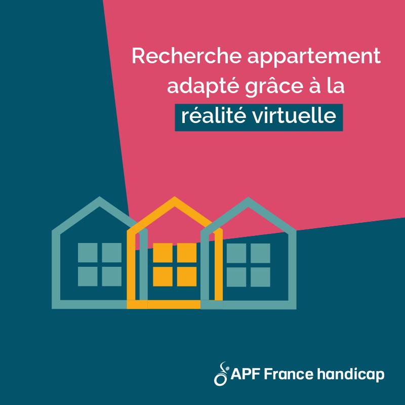 recherche appartement adapté grâce à la réalité virtuelle