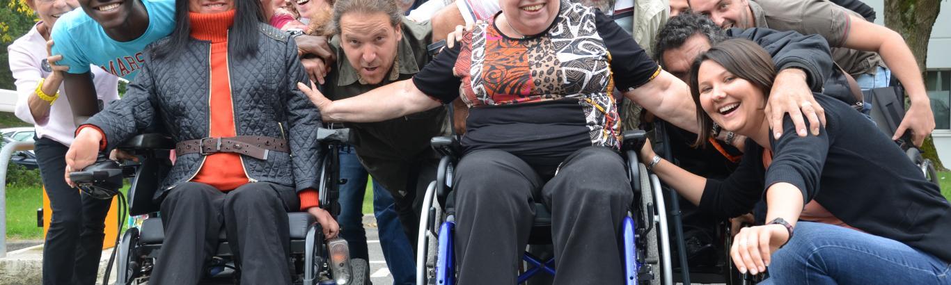 Service civique handicap, volontariat