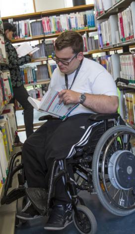 Visuel pour La librairie APF France handicap