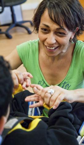 Visuel pour L'accompagnement du polyhandicap