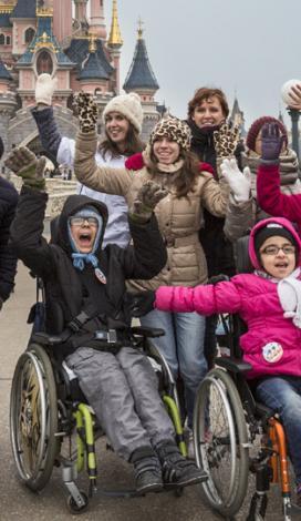 Visuel pour Profiter des sorties et séjours APF France handicap