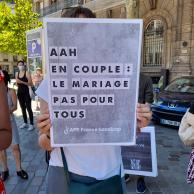 Visuel pour Déconjugalisation de l'AAH : avant le débat, la mobilisation s'intensifie !