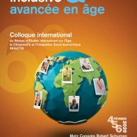"""Visuel pour 6e colloque international du REIACTIS """"Société inclusive et avancée en âge"""""""