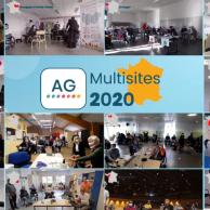 Visuel pour AG 2020 : multisites, digitale et innovante !