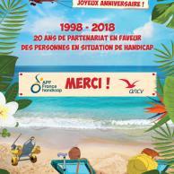Visuel pour ANCV / APF France handicap : 20 ans de partenariat