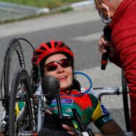 Visuel pour Portrait d'Anne Claveau, salariée et athlète handisport
