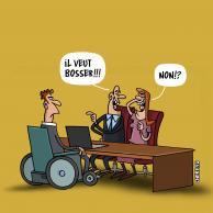 Visuel pour Semaine pour l'emploi des personnes handicapées : l'APF mobilisée !