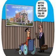 Visuel pour Projet de loi logement: les associations demandent le retrait de l'article 18 de la loi Elan