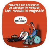 Visuel pour L'APF réveille la majorité