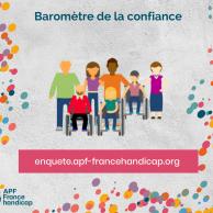 Visuel pour Baromètre France handicap de la confiance