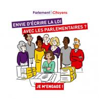 Visuel pour <p>#FaisonsLaLoi : participez à la campagne d'interpellation des candidats aux législatives !</p>