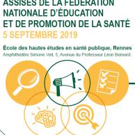 Visuel pour Assises de la Fédération nationale d'éducation et de promotion de la santé
