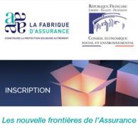 """Visuel pour """"Les nouvelles frontières de l'assurance"""" : un colloque au CESE le 21 septembre"""