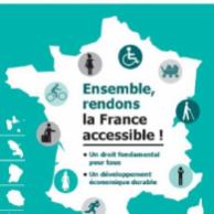 """Visuel pour <p>Présidentielle 2017 : Publication du plaidoyer : """"Ensemble, rendons la France accessible !""""</p>"""