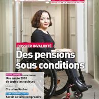 Visuel pour Tout comprendre à la pension d'invalidité grâce au dossier Faire Face de mars-avril