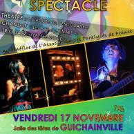 Visuel pour Dîner spectacle le 17 novembre à Guichainville