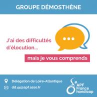 Visuel pour Groupe Démosthène - Difficultés d'élocution
