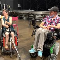 Visuel pour Les résidents du FAM Terro Flourido au festival d'Avignon