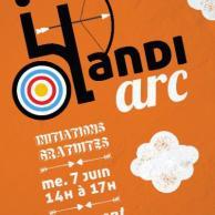 Visuel pour Handi'Arc (11e édition)