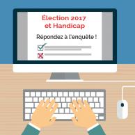 Visuel pour <p>Grande enquête « Elections 2017 et Handicap » : donnez votre avis !</p>