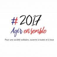 Visuel pour Présidentielle et législatives de 2017 : L'APF lance sa plateforme collaborative #2017Agirensemble sur 2017agirensemble.fr
