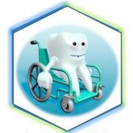 """Visuel pour Colloque national """"Santé orale et soins spécifiques"""" sur le thème des nouvelles technologies"""