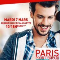 Visuel pour Salon Paris pour l'Emploi des Jeunes