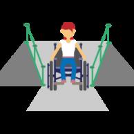 Visuel pour <p>Accessibilité : recours contre de nouvelles formes de dérogations !</p>