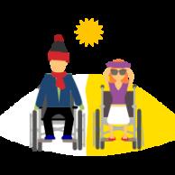 Visuel pour Pour des vacances reposantes et épanouissantes pour les personnes en situation de handicap et leurs familles