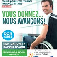 Visuel pour Semaine nationale des personnes handicapées physiques