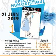 Visuel pour Spectacle Double A - Spectacle de malAAde à Nantes sur la sclérose en plaques