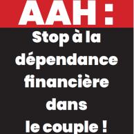 Visuel pour Déconjugalisation de l'AAH : 22 organisations mobilisées le 16 septembre, plus de 50 actions prévues en France